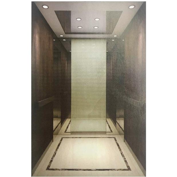 吊顶不锈钢LED灯乘客电梯