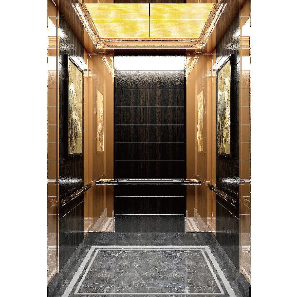 吊顶汰金镜面不锈钢,亚克力透光电梯