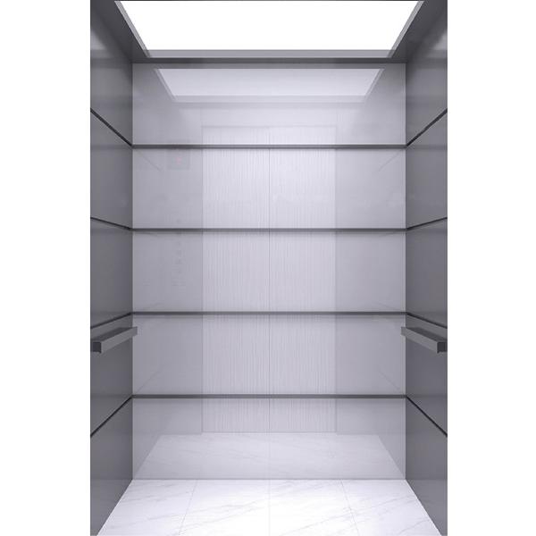 武汉吊顶发纹不锈钢乘客电梯