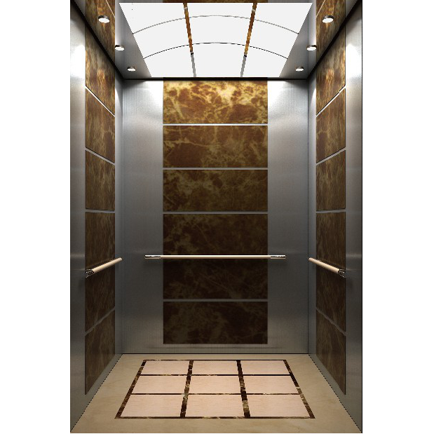 浙江吊顶镜面不锈钢镜面不锈钢大理石纹乘客电梯